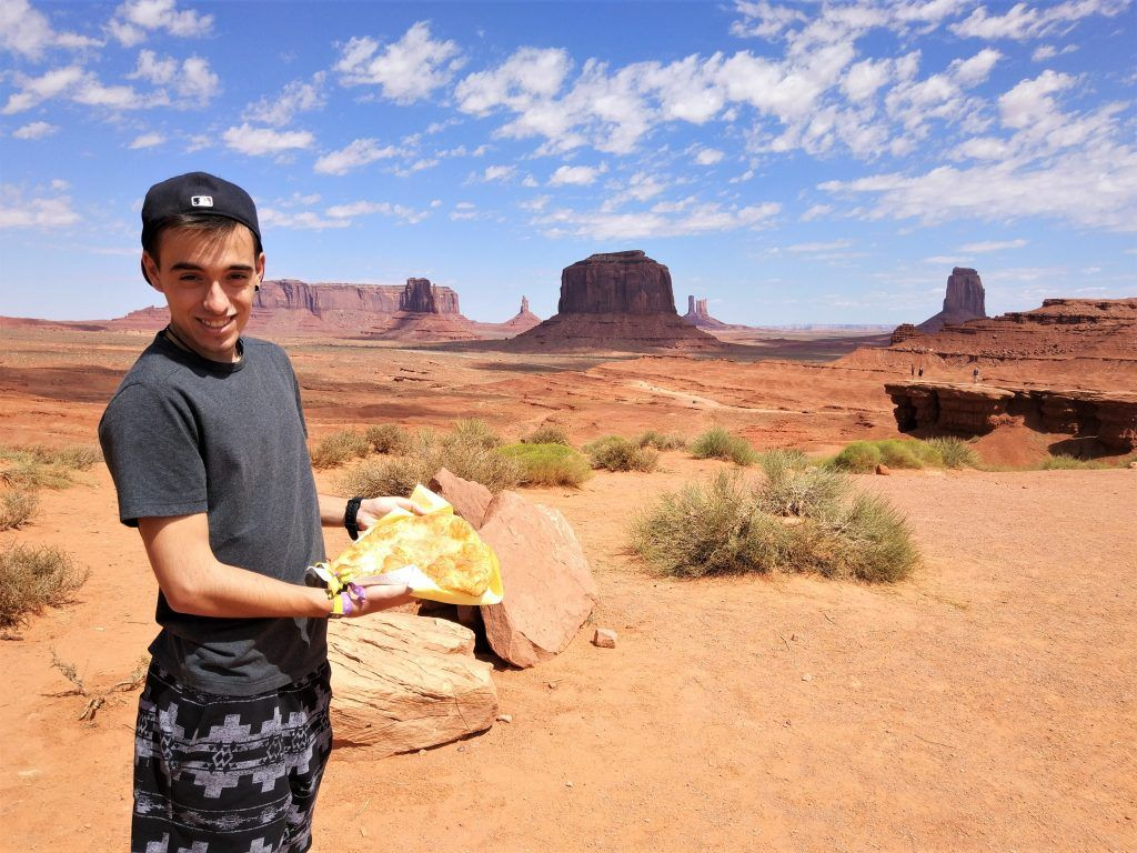 Frybread Monument Valley
